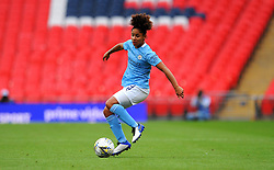 Demi Stokes of Manchester City Women in action- Mandatory by-line: Nizaam Jones/JMP - 29/08/2020 - FOOTBALL - Wembley Stadium - London, England - Chelsea v Manchester City - FA Women's Community Shield