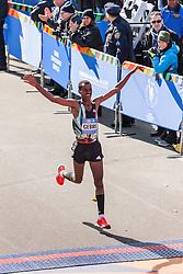 NYC Marathon, Gebre Gebremariam, Ethiopia, crosses finish line in 3rd