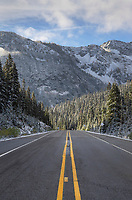 North Cascades Highway at Rainy Pass Washington