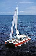 Day-sail catamaran, St. Lucia