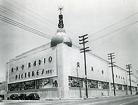 1940 RKO Radio Pictures Studio