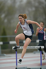 Forest City Mustang Invitational- Distance hurdles