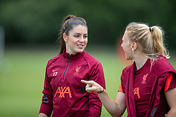 WALLASEY, ENGLAND - Wednesday, July 28, 2021: Liverpool's Carla Humphrey during a training session at The Campus as the team prepare for the start of the new 2021/22 season. (Pic by David Rawcliffe/Propaganda)