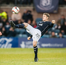 Dundee's James McAlister. Dundee 1 v 1 Falkirk, Scottish Championship game at Dundee's home ground Dens Park.