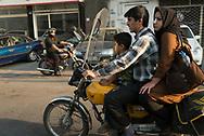 Iran, Theran, street life in jaleh square