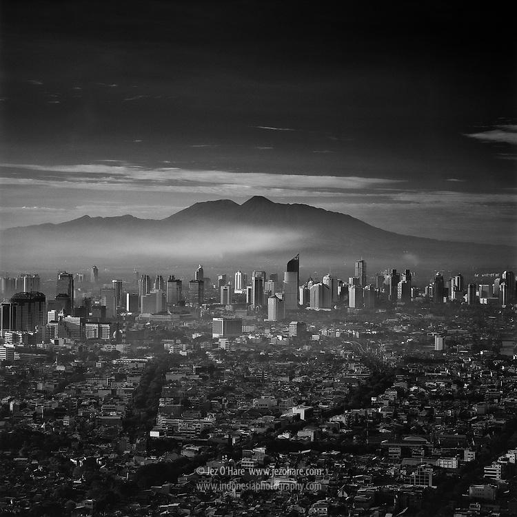 Jakarta & Mt. Gede-Pangrango 1998, Java, Indonesia.