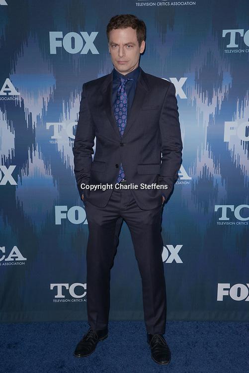 JUSTIN KIRK at the Fox Winter TCA 2017 All-Star Party at the Langham Hotel in Pasadena, California