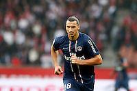 FOOTBALL - FRENCH CHAMPIONSHIP 2012/2013 - L1 - PARIS SAINT GERMAIN VS REIMS - 20/10/2012 - ZLATAN IBRAHIMOVIC (PARIS SAINT-GERMAIN)