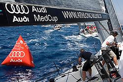 08_009447  © Sander van der Borch. Porto Portals, Mallorca,  July 21th 2008. AUDI MEDCUP in Porto Portals  (21/26 July 2008). Practice race.