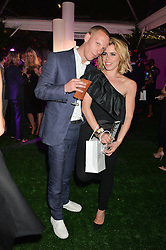 LAURENCE FOX and BILLIE PIPER at the Glamour Women of The Year Awards in Association with Next held in Berkeley Square Gardens, Berkeley Square, London on 3rd June 2014.