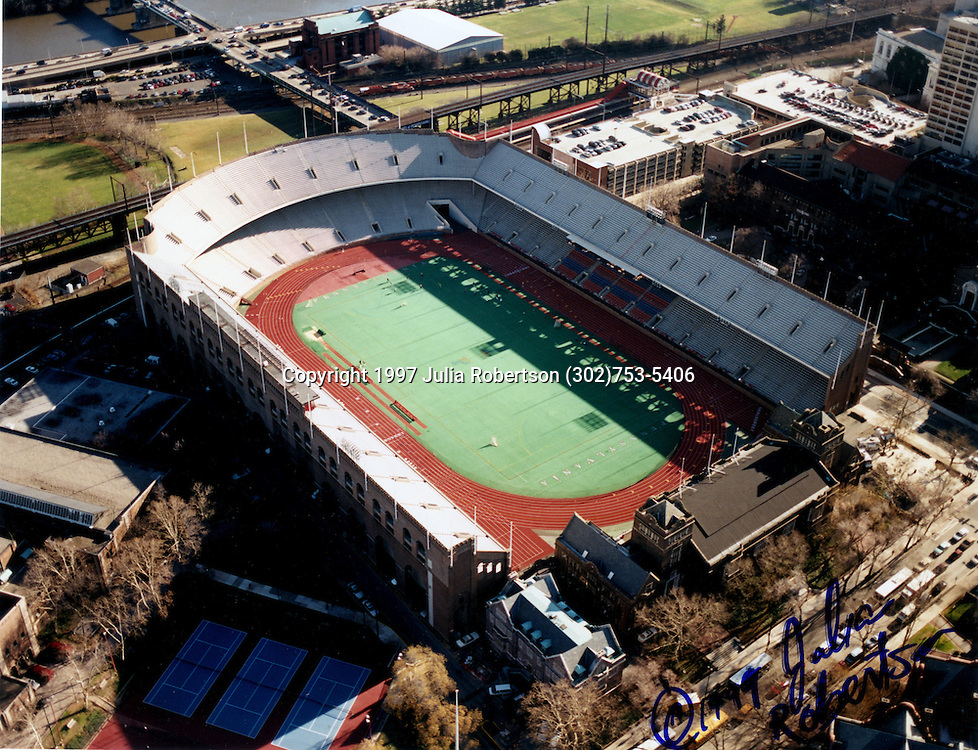 Franklin Field is the home of the Penn Relays, and is the University of Pennsylvania's stadium