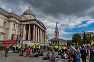 Extiction Rebellion Trafalgar square