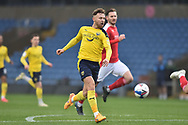 Oxford United forward Matty Taylor (9) scores a goal 1-0 during the EFL Sky Bet League 1 match between Oxford United and Swindon Town at the Kassam Stadium, Oxford, England on 28 November 2020.