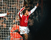Fotball<br /> Foto: Colorsport/Digitalsport<br /> NORWAY ONLY<br /> <br /> Arturo Lupoli  (Arsenal)<br /> <br /> Arsenal v Everton<br /> 9/11/2004.Carling League Cup 4th rd