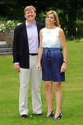 Photo shootof the Royal Family on their home De Horsten estate in Wassenaar.<br /> <br /> Op de foto:<br /> <br /> <br /> <br /> <br /> <br />  Prins Willem-Alexander en prinses Maxima