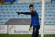 Bolton Wanderers goalkeeper Matthew Gilks (13) during the EFL Sky Bet League 2 match between Scunthorpe United and Bolton Wanderers at the Sands Venue Stadium, Scunthorpe, England on 24 November 2020.