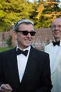 TIM ASHLEY, Richard Taylor's 69th birthday party.  Whithurst Park. West Sussex.  3 August 2013