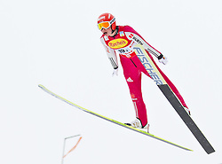 16.12.2011, Casino Arena, Seefeld, AUT, FIS Nordische Kombination, Ski Springen Team HS 109, im Bild Eric Frenzel (GER) // Eric Frenzel of Germany during Ski jumping the team competition at FIS Nordic Combined World Cup in Sefeld, Austria on 20111211. EXPA Pictures © 2011, PhotoCredit: EXPA/ P.Rinderer