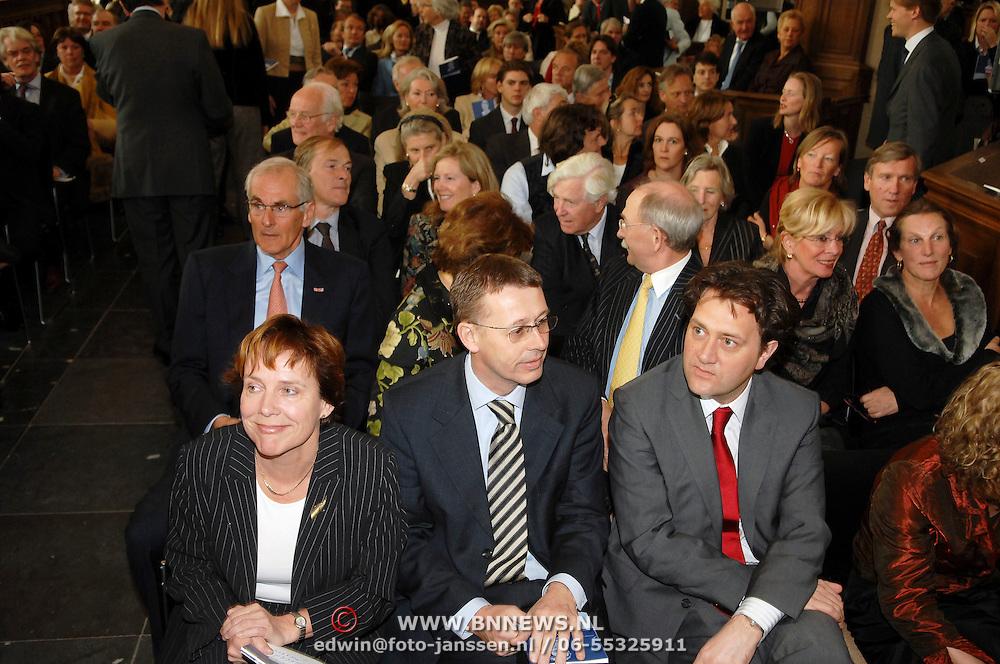 NLD/Naarden/20070406 - Mattheus Passion 2007, publiek in de Grote Kerk