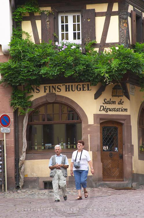 hugel wine shop riquewihr alsace france
