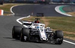 July 6, 2018 - Silverstone, Great Britain - Motorsports: FIA Formula One World Championship 2018, Grand Prix of Great Britain, .#9 Marcus Ericsson (SWE, Alfa Romeo Sauber F1 Team) (Credit Image: © Hoch Zwei via ZUMA Wire)