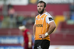 September 9, 2017 - Limerick, Ireland - Jacques du Toit of Cheetahs during the Guinness PRO14 rugby match between Munster Rugby and Cheetahs Rugby at Thomond Park in Limerick, Ireland on September 9, 2017  (Credit Image: © Andrew Surma/NurPhoto via ZUMA Press)