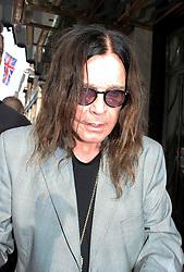 © Licensed to London News Pictures. 04/07/2014, UK. Ozzy Osbourne, Claridges Hotel, London UK, 04 July 2014. Photo credit : Mike Webster/Piqtured/LNP