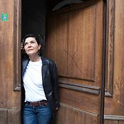 Piccolo Teatro Grassi, Milano, Italia, 9 Aprile 2021. Iris Caffelli, 54 anni, Responsabile Organizzativa.