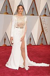 February 27, 2017 - Los Angeles, California, United States of America - 2/26/17.Chrissy Teigen at the 89th Annual Academy Awards (Oscars)..(Hollywood, CA, USA) (Credit Image: © Starmax/Newscom via ZUMA Press)