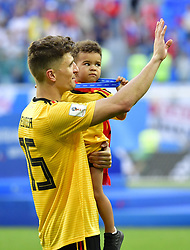 July 14, 2018 - Saint Petersbourg, Russie - SAINT PETERSBURG, RUSSIA - JULY 14 : Thomas Meunier defender of Belgiumduring the FIFA 2018 World Cup Russia Play-off for third place match between Belgium and England at the Saint Petersburg Stadium on July 14, 2018 in Saint Petersburg, Russia, 14/07/18 (Credit Image: © Panoramic via ZUMA Press)