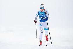 April 6, 2018 - Alta, NORWAY - 180406 Hedda Østberg Amundsen competes in the Women's 5 km Classic during the Norwegian Championship on April 6, 2018 in Alta..Photo: Jon Olav Nesvold / BILDBYRÃ…N / kod JE / 160235 (Credit Image: © Jon Olav Nesvold/Bildbyran via ZUMA Press)