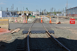 New Haven Rail Yard, Independent Wheel True Facility. CT-DOT Project # 0300-0139, New Haven CT.<br /> Photograph of Construction Progress Photo Shoot 22 on 16 May 2013. One of 50 Images Captured this Submission.