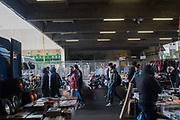 Vauxhall Sunday market Nine Elms, London. 13 January 2018
