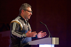 NEWPORT, WALES - Sunday, May 22, 2016: Osian Roberts during the Football Association of Wales' National Coaches Conference 2016 at the Celtic Manor Resort. (Pic by David Rawcliffe/Propaganda)