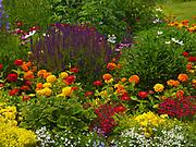 Flower garden at The Ridge, Elkhorn, Sun Valley, Idaho