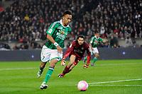 FOOTBALL - FRENCH CHAMPIONSHIP 2011/2012 - L1 - PARIS SAINT GERMAIN v AS SAINT ETIENNE - 2/05/2012 - PHOTO JEAN MARIE HERVIO / DPPI - PIERRE EMERYCK AUBAMEYANG (ASSE)
