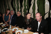 KEVEN DUFFY, TONY SHAFRAZI , DENNIS HOPPER, POLLY KARPEDIAS AND RICHARD PRINCE. Party hosted by Larry Gagosian at Nobu, Berkeley St. London. 9 October 2007. -DO NOT ARCHIVE-© Copyright Photograph by Dafydd Jones. 248 Clapham Rd. London SW9 0PZ. Tel 0207 820 0771. www.dafjones.com.