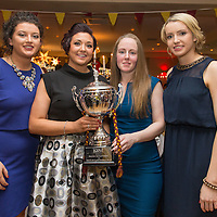 Miltown Malbay Ladies Footballers Orla Kennelly, Michelle McCorr, Emer Considine and Clare Curtin