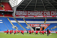 040916 Wales football team training