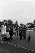 17/07/1967<br /> 07/17/1967<br /> 17 July 1967<br /> International Athletics at Santry Stadium, Dublin. Image shows Australia's Ron Clarke crossing the finish line to win the Men's Three Mile International race.
