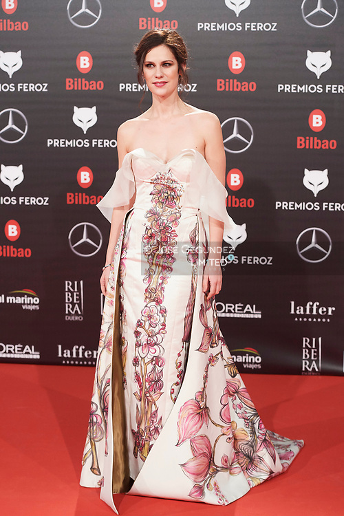 Lidia San Jose attends the 2019 Feroz Awards at Bilbao Arena on January 19, 2019 in Madrid, Spain