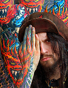 """Singer Rob Zombie, of the metal band """"White Zombie"""""""