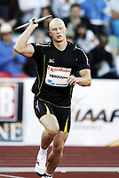 Friidrett , 5. juni 2010 , Bislett Games , Diamond League ,<br /> Teemu Wirkkala , FIN  javelin throw