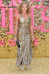 © Licensed to London News Pictures. 29/06/2016.  KELLY HOPPEN attends the ABSOLUTELY FABULOUS world film premiere. London, UK. Photo credit: Ray Tang/LNP