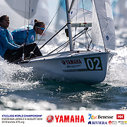 470 World Championship 2019. Enoshima