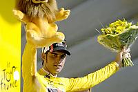 Sykkel<br /> Tour de France 2006<br /> Foto: Dppi/Digitalsport<br /> NORWAY ONLY<br /> <br /> CYCLING - UCI PRO TOUR - TOUR DE FRANCE 2006 - 21/07/2006 <br />                           <br /> STAGE 18 - MORZINE > M†CON - OSCAR PEREIRO SIO (ESP) / CAISSE D EPARGNE ILLES BALEARS / LEADER