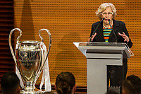Mayor of Madrid, Manuela Carmena during the Real Madrid CF reception at Madrid city hall after winning the Champions League May 29,2016. (ALTERPHOTOS/Rodrigo Jimenez)