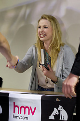 """© under license to London News Pictures. 19/3/2011: Actress, Freya Mavor, who plays Mini McGuinness in E4's """"Skins"""", at the signing of the new book, """"Skins: Summer Holiday"""", at HMV Manchester. Credit should read, """"Joel Goodman/LNP"""".."""