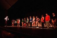 A Chorus Line dress rehearsal at Gilford High School.  Karen Bobotas for the Laconia Daily Sun