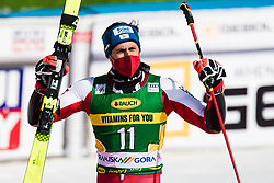 Brennsteiner Stefan (AUT) during the Audi FIS Alpine Ski World Cup Men's Giant Slalom at 60th Vitranc Cup 2021 on March 13, 2021 in Podkoren, Kranjska Gora, Slovenia Photo by Grega Valancic / Sportida